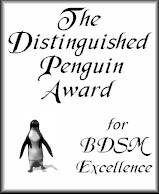 The Distinguished Penguin Award